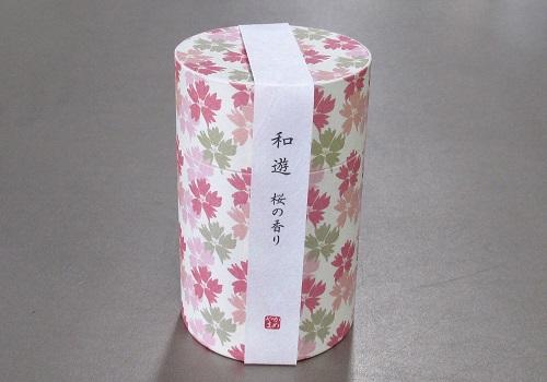 ●和遊 桜の香り ミニ寸線香 【カメヤマ】