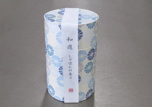 ●和遊 しゃぼんの香り ミニ寸線香 【カメヤマ】
