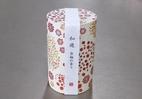 ●和遊 白梅の香り ミニ寸線香 【カメヤマ】