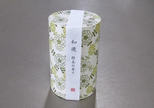 ●和遊 緑茶の香り ミニ寸線香 【カメヤマ】