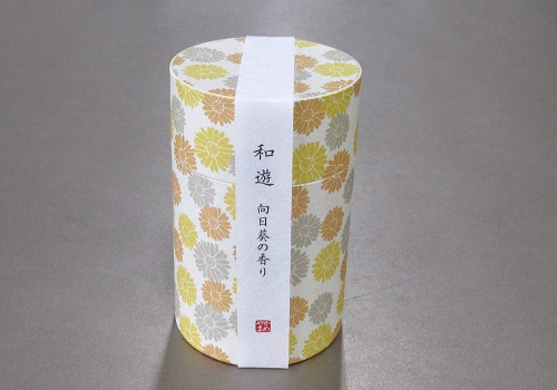 ●和遊 向日葵の香り ミニ寸線香 【カメヤマ】