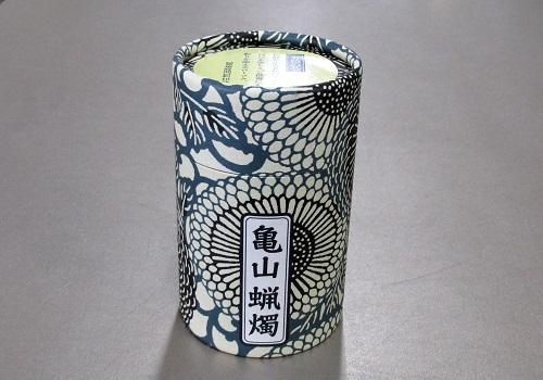 ●和遊 五色の芯 10分蝋燭 【カメヤマ】