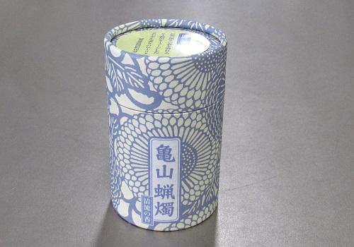 ●和遊 清流の香 10分蝋燭 【カメヤマ】