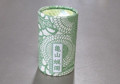 ●和遊 植物原料配合 10分蝋燭 【カメヤマ】