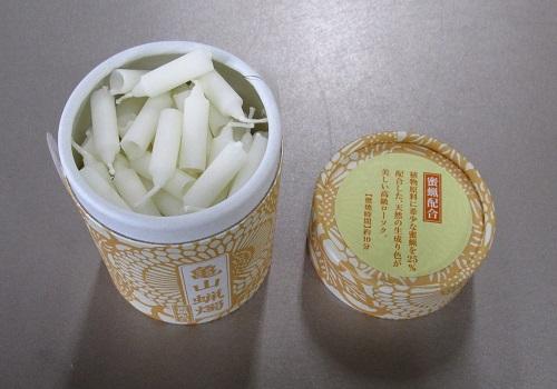 ●和遊 蜜蝋配合 10分蝋燭 【カメヤマ】