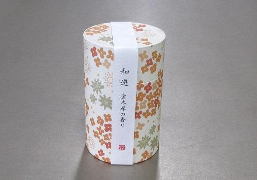 ■和遊 金木犀の香り ミニ寸線香 【カメヤマ】