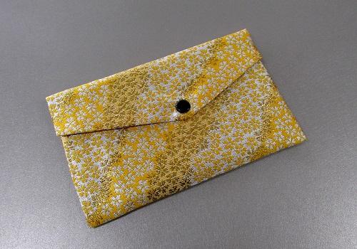○念珠袋・数珠袋 東山 黄・ベージュ系