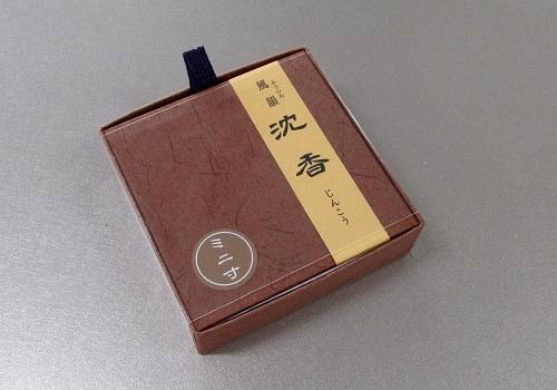 ■有煙線香 風韻沈香 ミニ寸 20g入 【みのり苑】
