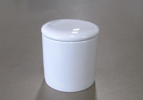 ◇骨壺・骨壷 シリコン付骨カメ 2.5寸 白