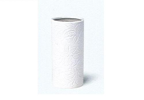 △花瓶 白唐草投入 尺0×1ケース(12本入)