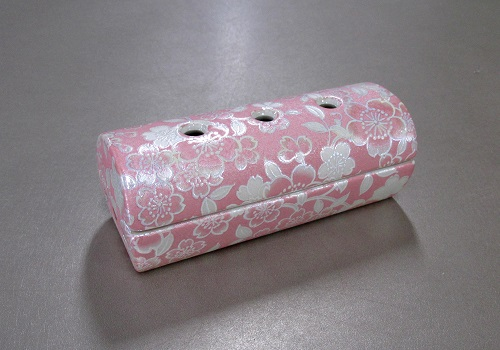 ●ゆい花 筒型香炉 桜