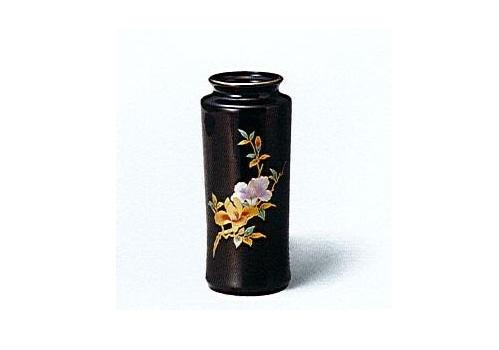 ◇花瓶・花立 美濃焼花瓶 7号天目杵型木蓮