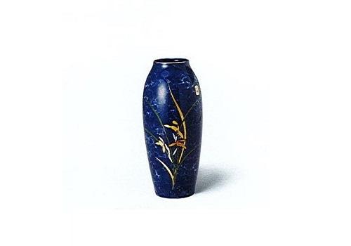 ◇花瓶・花立 美濃焼花瓶 しおさい9号細形ラン