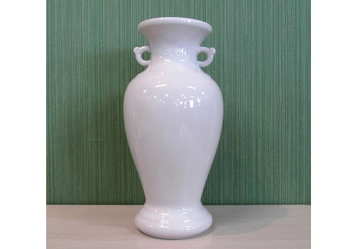●花瓶・サギ型花立 白無地サギ 尺0×1対(2ヶ)