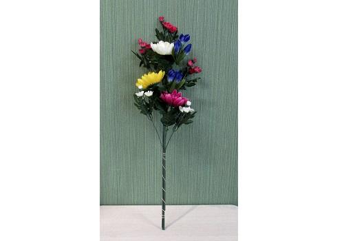 ●造花 仏花用花束 菊・小菊DX 赤