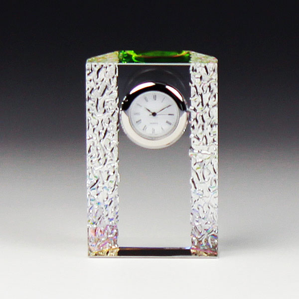 ◆DT-14クリスタル時計 DT−14 サンド彫刻