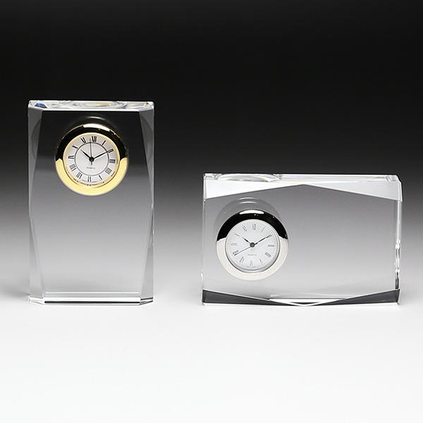 ◆DT-1クリスタル時計 DT−1 サンド彫刻