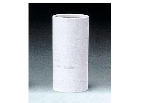 ◇花瓶 白無地投入 尺1