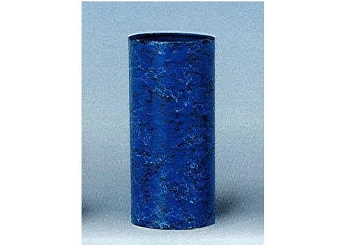 △花瓶・花立 大理石調投入 9.0寸 ブルー×1ケース(12ヶ)
