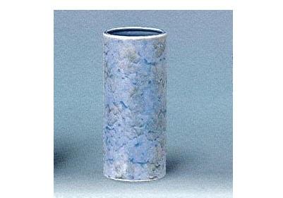 △花瓶・花立 大理石調投入 7.0寸 グリーン×1ケース(30ヶ)