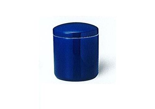 △骨壺・骨壷 ルリ上骨カメ かぶせ蓋 6.0寸×1ケース(8ヶ入)