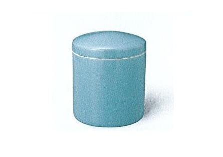 △骨壺・骨壷 青磁上骨カメ かぶせ蓋 7.0寸×1ケース(6ヶ入)