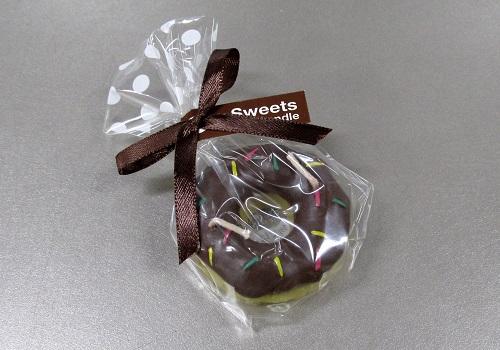 ★プチスイーツキャンドル チョコドーナツ 【カメヤマ】