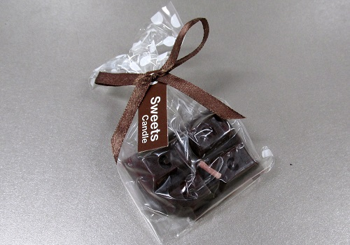 ★プチスイーツキャンドル ビターチョコレート 【カメヤマ】