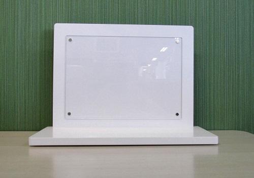 ★手元供養壇 アクリルパネル飾り台 和紙付 ホワイト
