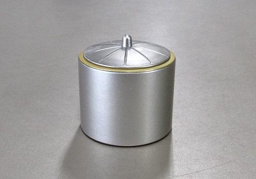 ■PC香炉 落とし付 3.0寸 シルバー ※在庫処分特価品