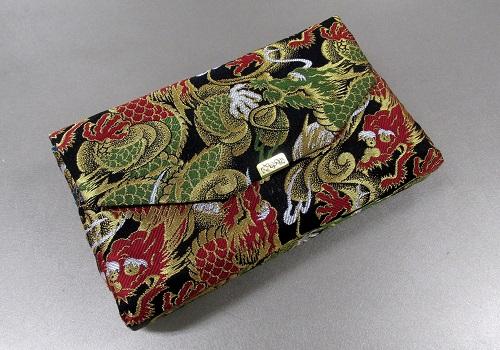 ●和柄バッグ 経本数珠入・マチ付バック 西陣織