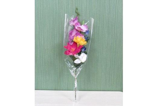■造花 シルク盆花5本束