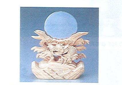 ◇神鏡竜上彫 2.5寸