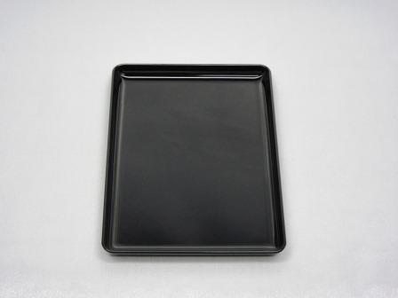 ◇想心名刺盆 黒 7.0寸 PC製 裏塗り無し