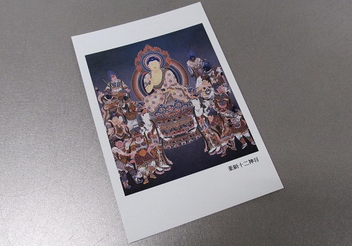 ☆仏画ポストカード H22 薬師寺十二神将 ※訳アリ品