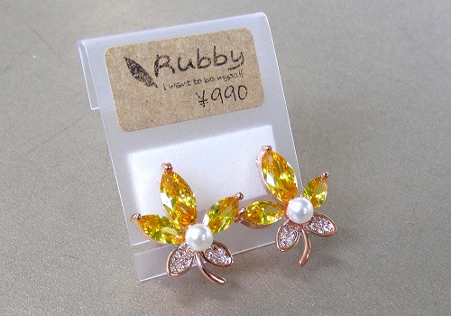 ★イヤリング MO 【Rubby】
