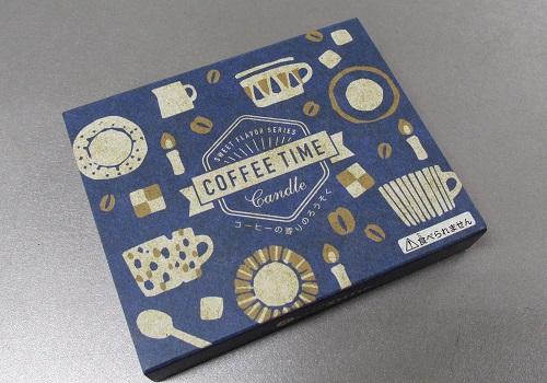 □コーヒーキャンドル 56本入 コーヒーエキス配合 苦みのあるコーヒーの香りローソク 【丸叶むらた】