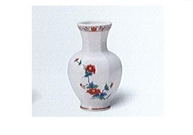 △美濃焼花瓶 5号太口花瓶 天香牡丹×1対(2ヶ)