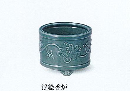 ★浮絵香炉 5.0寸