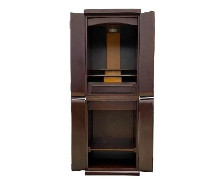 ◆家具調仏壇 レード 15号 ダーク色