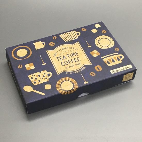 ★TEA TIME COFFEE コーヒーの香りのお線香 ハーフ寸 【丸叶むらた】