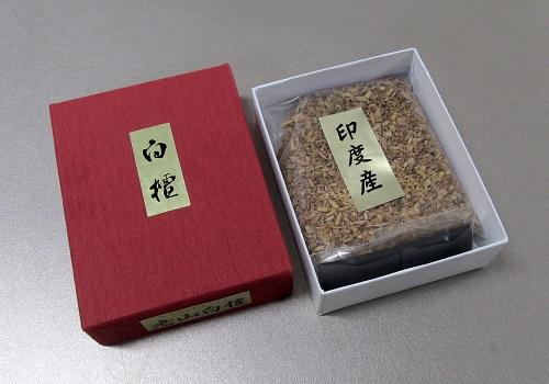 ☆焼香セット 香貴刻 老山白檀15g 香炭入(二回分)
