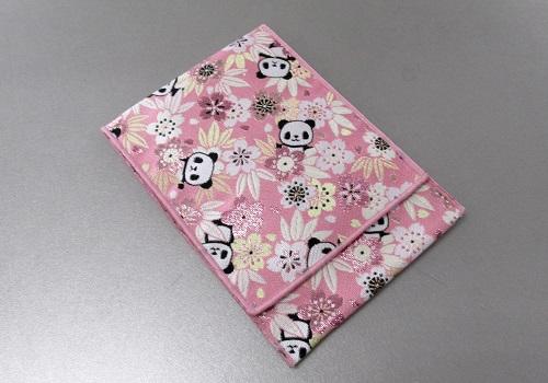 ☆念珠袋・数珠袋 かりん桜 パンダ ピンク