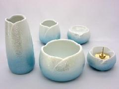 ◇やわらぎ5点セット ラスター(陶器製)