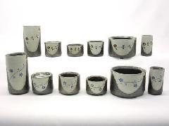 【具足セット】信楽焼 6具足セット(陶器製)