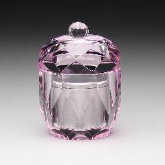 ★ガラスミニ骨壺 手元供養 TH-4 アルミケース付
