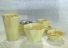 ◇モダン仏具 きらら仏具6点セット レモン