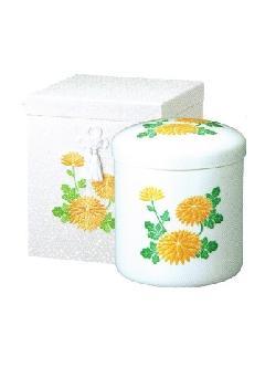 ◇骨箱 花柄刺繍箱 7.0寸