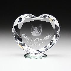 ◆KP-6クリスタル位牌 KP−6 大 レーザー彫刻