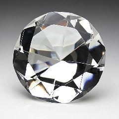 ★SY-1 クリスタルダイヤモンド 中 彫無